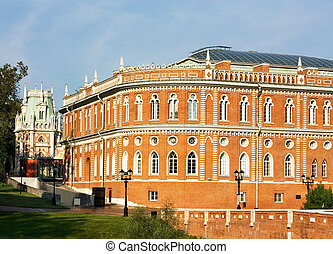 Bread House in Tsaritsyno - View of Bread House in the...
