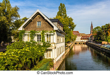 """Strasbourg in the """"Petite France"""" area - Alsace"""
