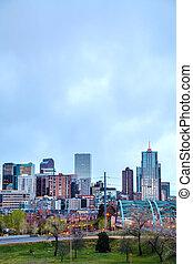 Downtown Denver cityscape