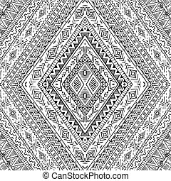 Background with geometric elements. - Original drawing...