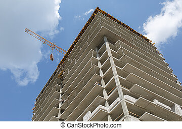 Building of flats - Construction of a residential apartment...