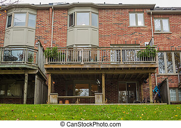 Townhouse or condominium in Canada