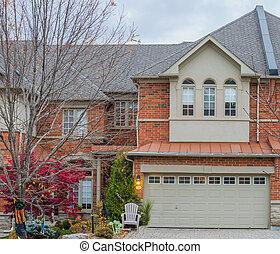 Townhouse or condominium in Canada