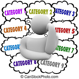 Category Organize Thoughts Thinker Managing Ideas Tasks Jobs...