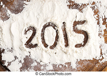 The inscription on the flour - 2015 - The inscription on the...