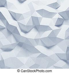 mönster, abstrakt, papper, fasetterad