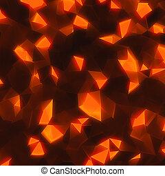 hi-tech background - hi-tech abstract geometric shining...