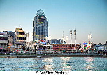 Great American Ball Park stadium in Cincinnati - CINCINNATI...