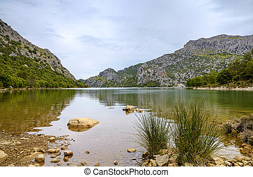Panta de Gorg Blau on Mallorca - The Panta de Gorg Blau on...