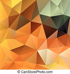vector polygonal background autumn - vector polygonal...