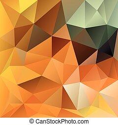 vector polygonal background autumn - vector polygonal...