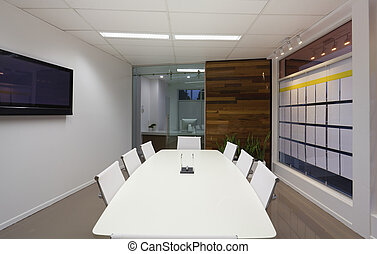 Board room - Small board room or meeting room in new office.
