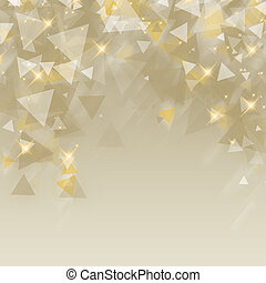 Abstract Happy Holidays Background - An illustration on...