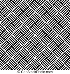 Seamless Lines Pattern - Vector Abstract Seamless Lines...