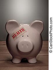 médico, conceito, saúde, seguro, despesas
