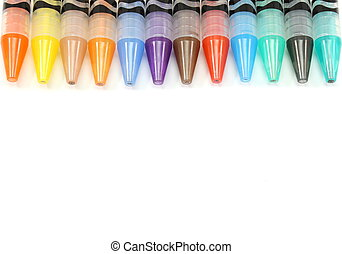 Border of Mechanical Color Pencils - A nice border of...
