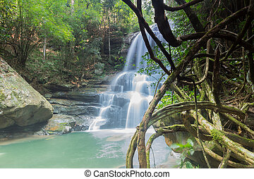 Huai Phai waterfall - Beautiful Waterfall in Phu Rua...