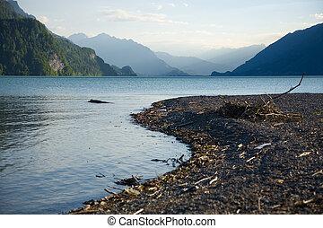 Shore on Lake Brienz