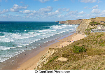 Watergate Bay Cornwall nr Newquay - Watergate Bay Cornwall...