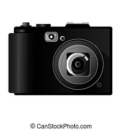 Digital Camera - Vector illustration of digital camera...