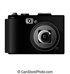 Digital Camera - Vector illustration of digital camera...