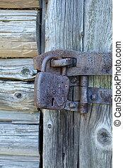 door shut