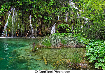 Plitvice Lakes - Landscapes from the Plitvice Lakes National...