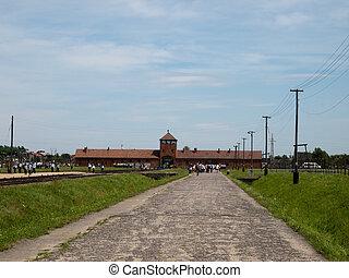 Auchswitz-Birkenau - Auschwitz -Birkenau -concentration camp...