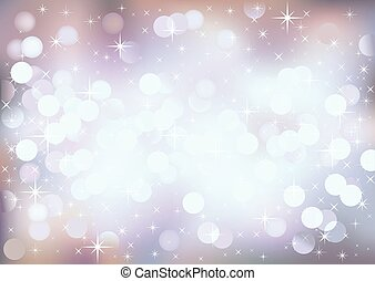 Pastel festive lights, vector background - Vector background...