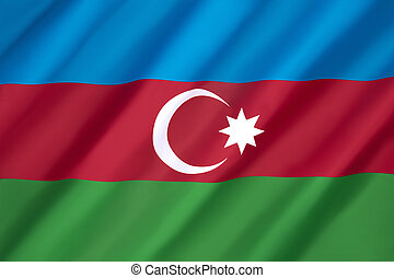 Flag of Azerbaijan - This flag was used from November 1918...