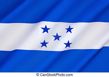 Flag of Honduras - In 1823 Honduras joined the United...