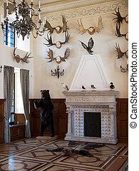 Nesvizh -Belarus - Radziwill Palace in...