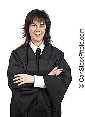 Female judge