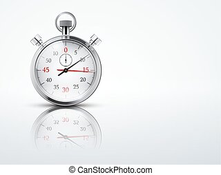 Light Background with chronometer stopwatches Business or...