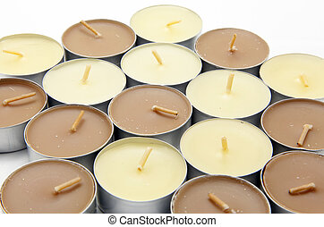 Candles - Isolated candles