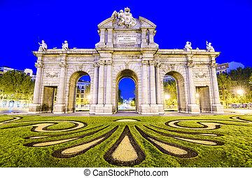 Puerta de Alcala - Madrid, Spain at Puerta de Alcala gate