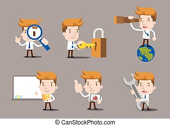 Businessman cartoon