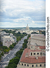 US Capitol in Washington DC - The US Capitol Building in...