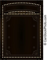 Prohibition Era Background and Frame Design