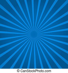Background with blue rays