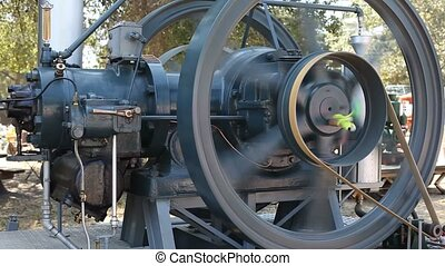 Old machinery - A machine is any device that uses energy to...