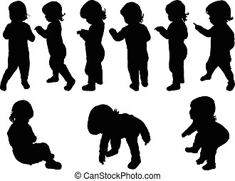 kids collection - vector