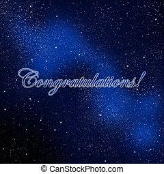 Congratulations Graduates - An abstract illustration on...
