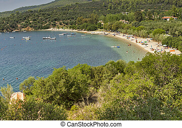Agia Kiriaki Beach, Chalkidiki, Sithonia, Central Macedonia,...