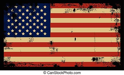 Grunge American Background 2