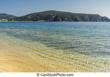 Porto Koufo Beach, Chalkidiki, Sithonia, Central Macedonia,...