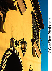 Andalucian Lantern Revisited - The buildings in Andalucia...