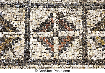 Roman mosaics - Mosaics of the roman villa of Pisoes near...