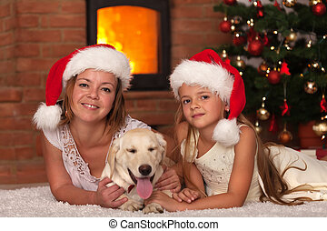 Christmas with our doggie