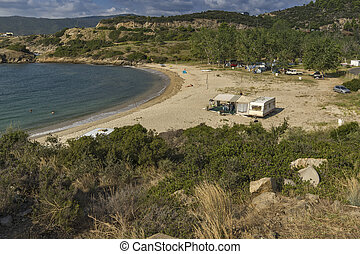 Achlada Beach, Chalkidiki, Sithonia, Central Macedonia,...